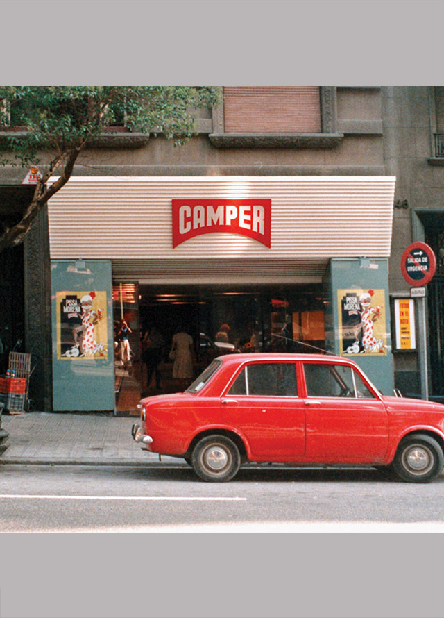 The Stores Camper History