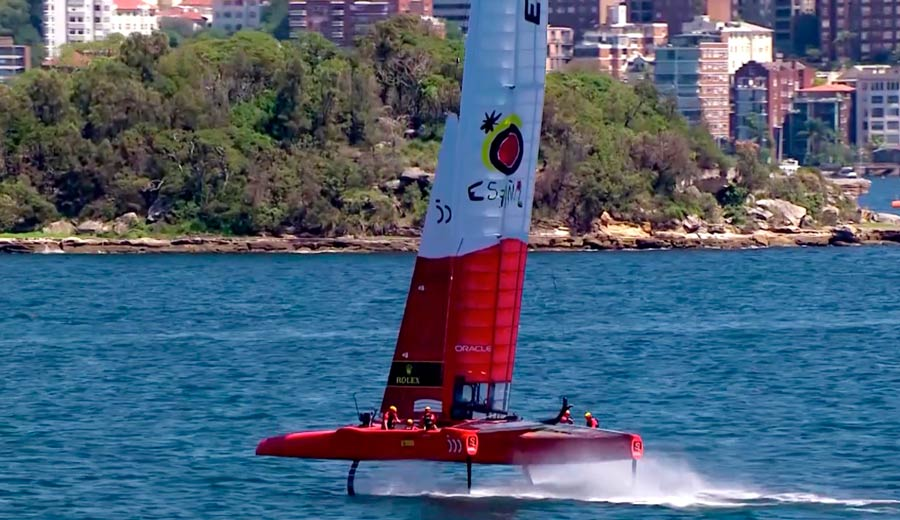 Camper x Spain SailGP Team