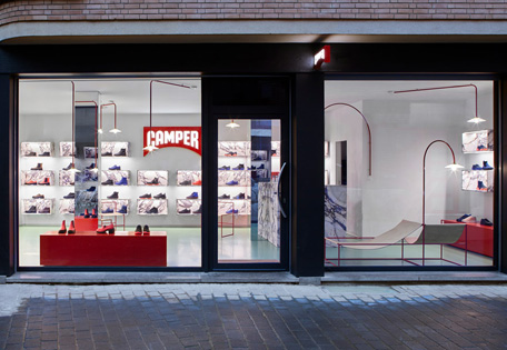 Converse flagship store in New York truly represents america
